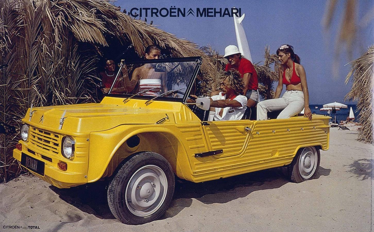 El Méhari se ha identificaco con la aventura y la playa