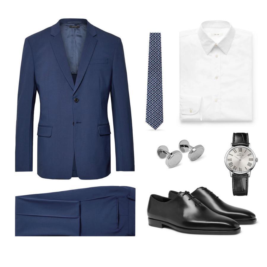 Look clásico para ser el más elegante en una comunión