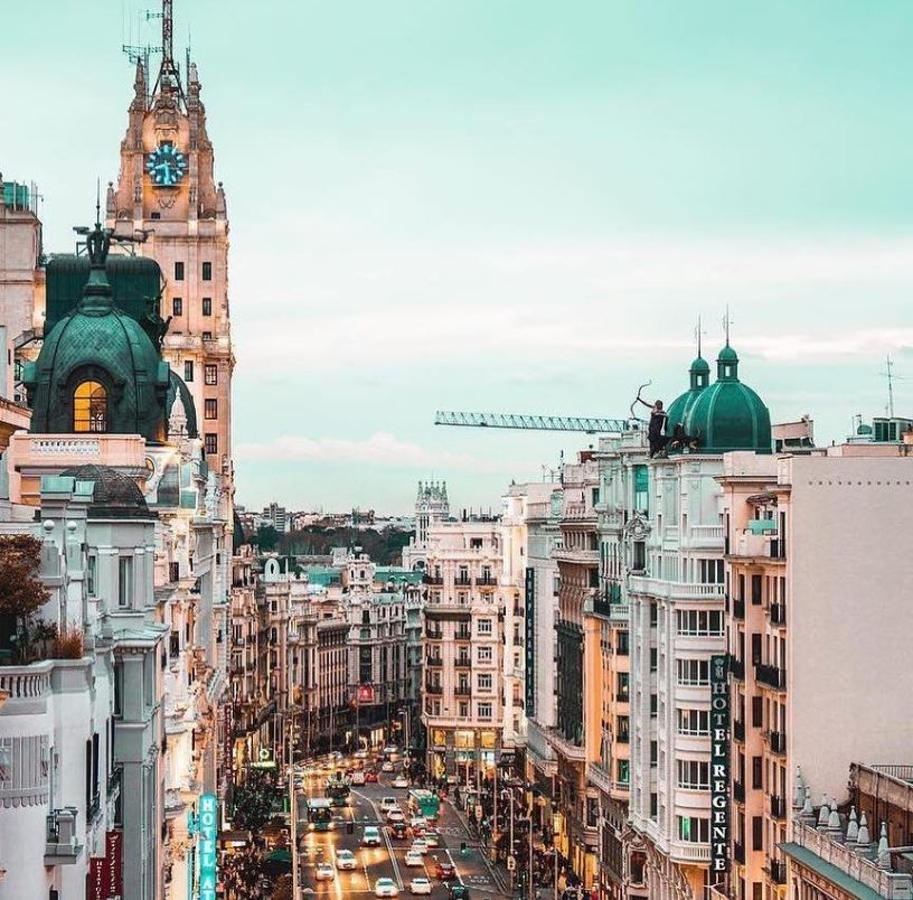 En el centro de Madrid