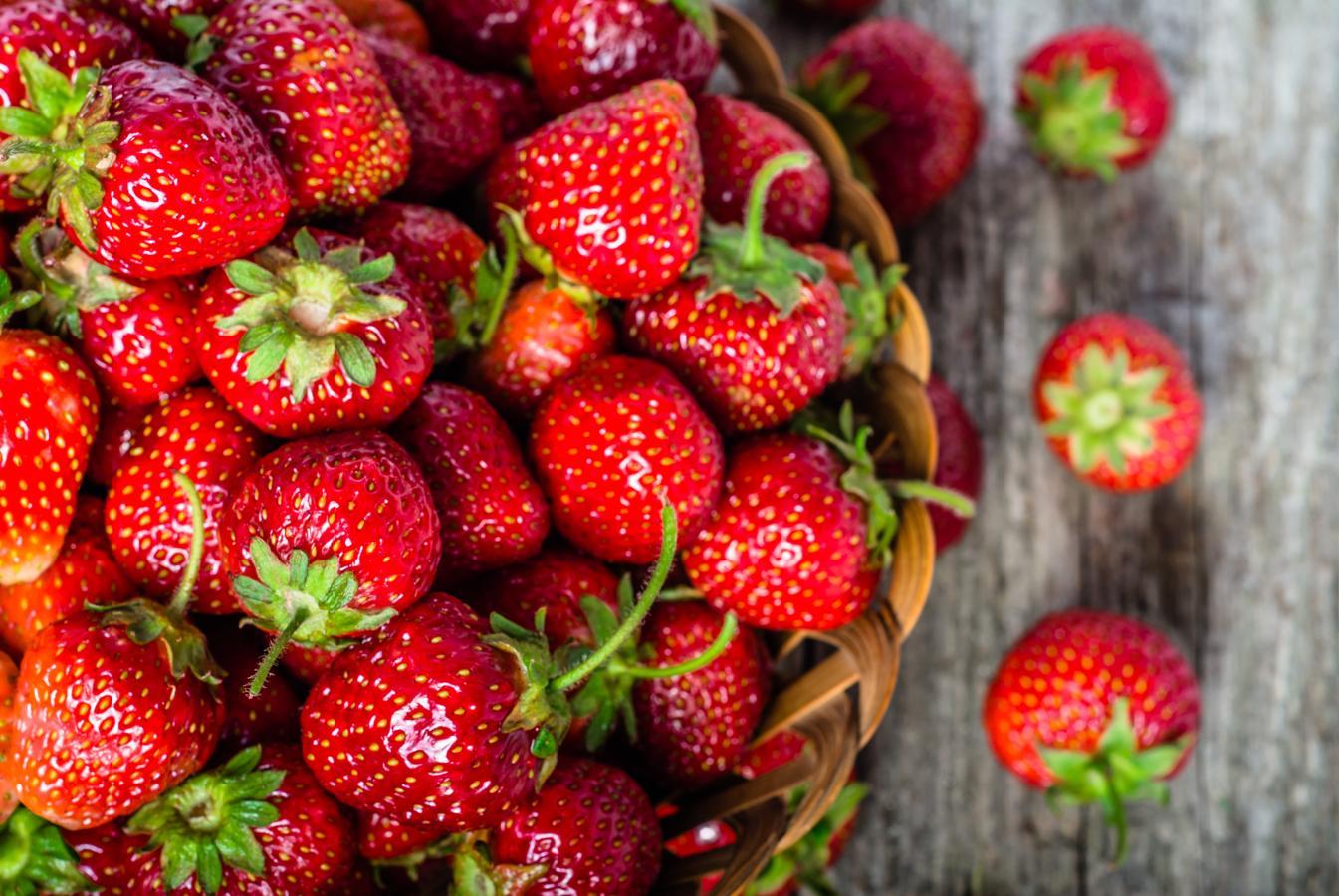 Fresas, un mimo para el corazón