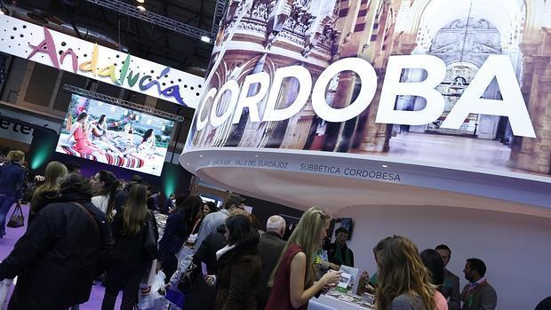 Expositor de la provincia de Córdoba en la pasada edición de Fitur