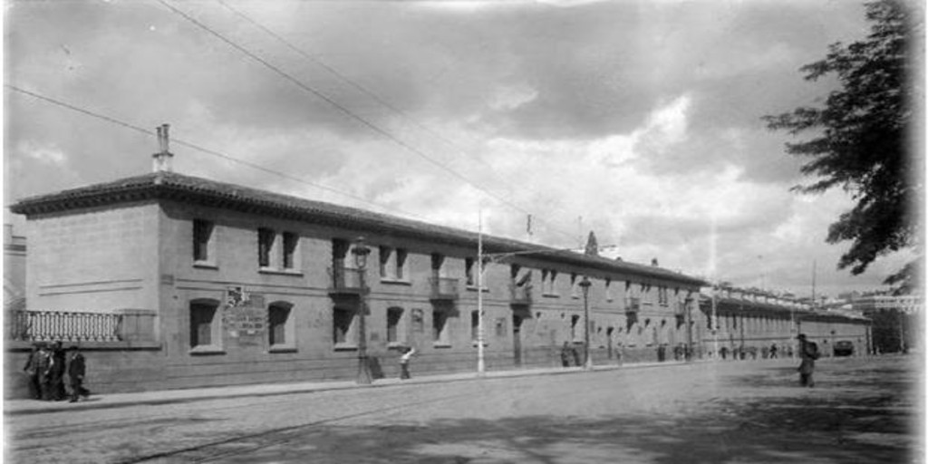 Mariano Benlliure, ante el derribo de las Reales Caballerizas en 1932: «¡Qué importa que desaparezcan las ruinas, si de entre ellas puede resurgir la belleza!» - Archivo ABC