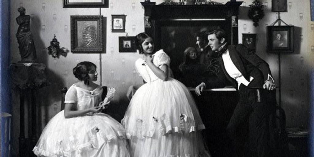 El rudimentario Whatsapp de finales del siglo XIX: «Domingo, paseo Retiro; nos veremos; disimula» - Archivo ABC