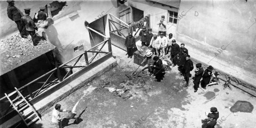 Los casos del Sherlock Holmes español: el crimen del capitán Sánchez - Archivo ABC