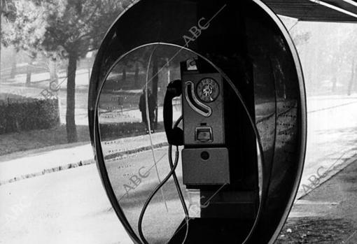 With this version, the phone reached many towns in Spain in the 70s