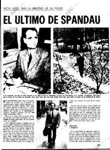 Entrevista con el hijo de Rudolf Hess en 'Blanco y Negro', en 1973
