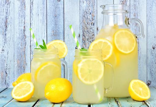 Limonada casera.
