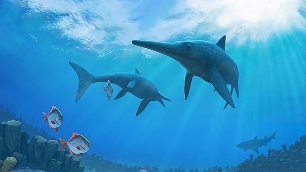 Los Monstruos Marinos Que Desaparecieron Antes Que Los Dinosaurios Animales gigantes que habitaban los mares y oceanos de la prehistoria. desaparecieron antes que los dinosaurios