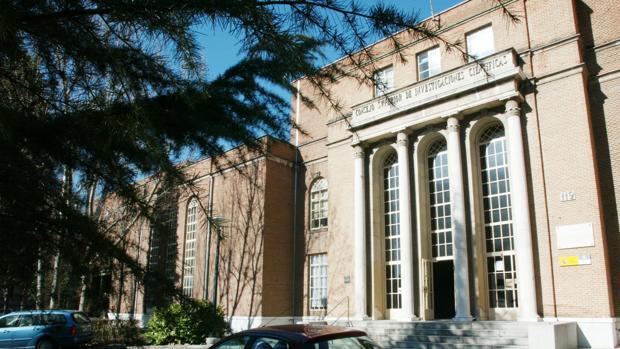 Uno de los edificios del complejo del Consejo Superior de Investigaciones Científicas en Madrid