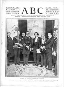 1905 знаменует собой прорыв молодого Эйнштейна на вершину физики, представив теорию специальной теории относительности. В 1923 году она была обложкой ABC при посещении Испании, через два года после получения Нобелевской премии.
