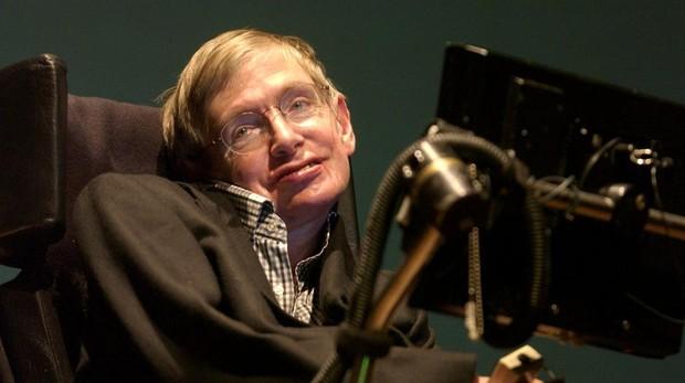 Stephen Hawking en una imagen tomada en 2003