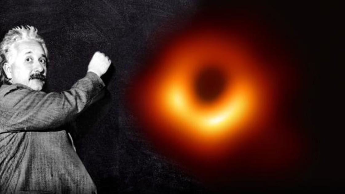 Resultado de imagen para agujeros negros einstein