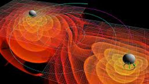 Resultado de imagen de Ondas gravitacionales