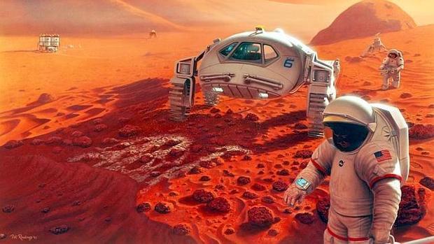 Recreación de una expedición humana a Marte