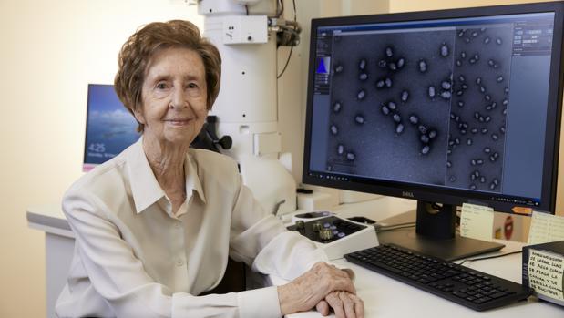 Margarita Salas, bioquímica española quien ha sido reconocida por la Oficina Europea de Patentes