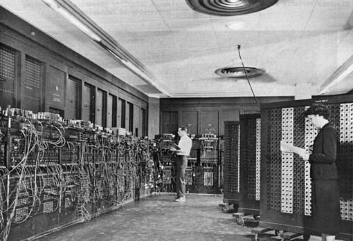 ENIAC (Electronic Numerical Integrator And Computer) en Filadelfia