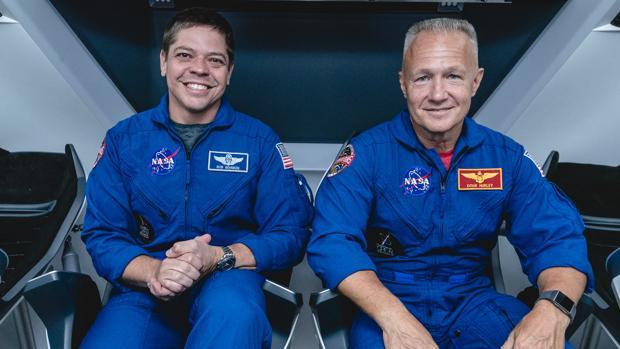 Misión histórica: por primera vez, la nave Crew Dragon llevará dos personas al espacio en mayo