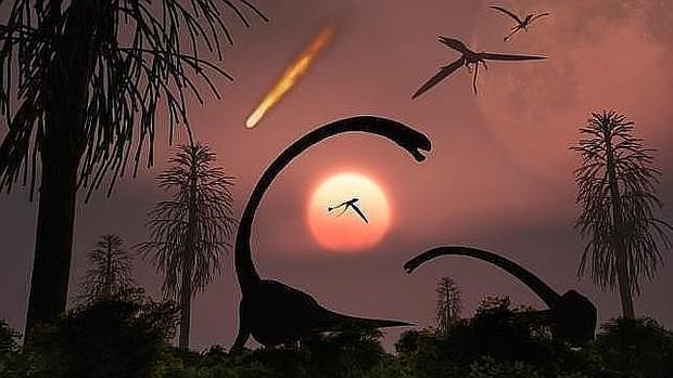 La oscuridad, y no el frío, fue lo que mató a los dinosaurios