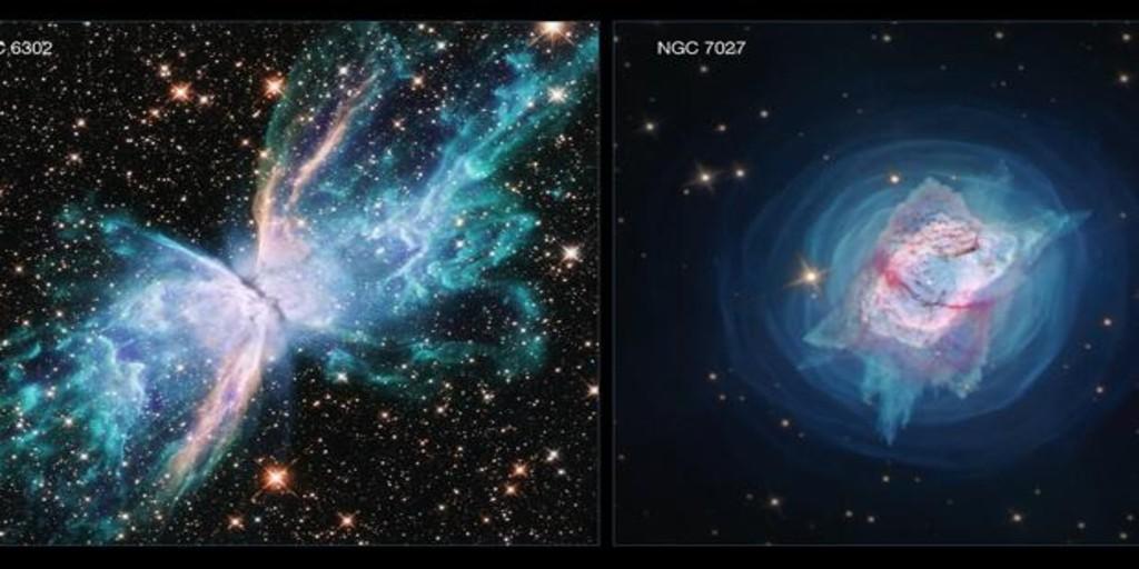 Las impresionantes imágenes del Hubble que muestran dos nebulosas ...