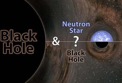 Los científicos no saben si el menor objeto de la pareja que se fusionó es un agujero negro o una estrella de neutrones