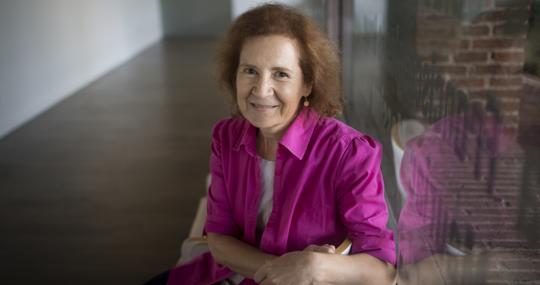 Margarita del Val, en una imagen de 2018