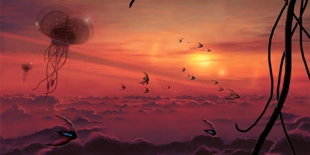 Vida en la atmósfera de Venus?