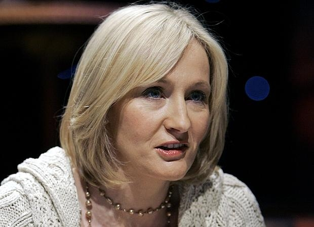 La escritora J. K. Rowling, creadora de Harry Potter