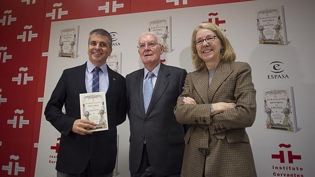 Presentación del libro en el Instituto Cervantes