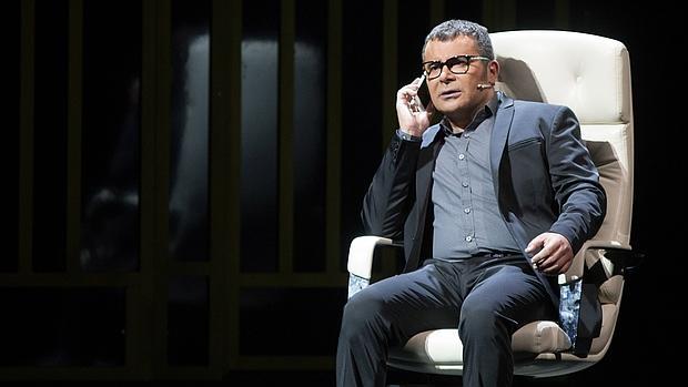 Jorge Javier Vázquez, en una escena de «Iba en serio»