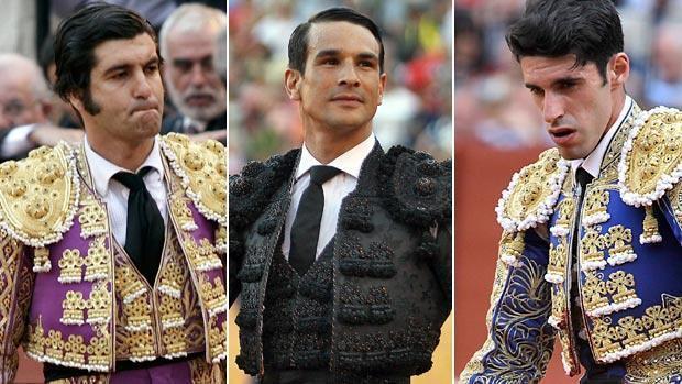 Morante de la Puebla, José María Manzanares y Alejandro Talavante