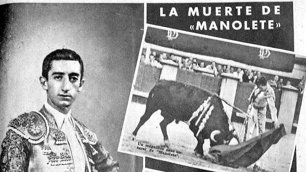 Portada de ÁBC con la muerte de Manolete en 1947