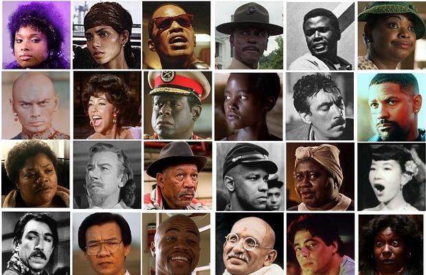 Todos los intérpretes no blancos que han ganado el Oscar