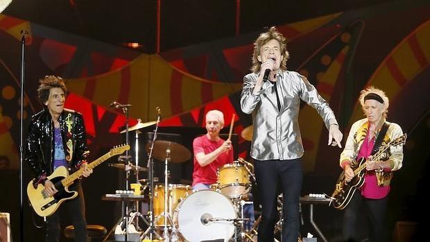 The Rolling Stones en una imagen de su actual gira por Iberoamérica
