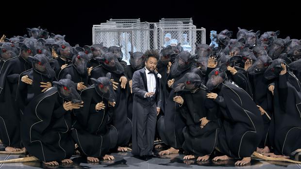 Una escena de «Lohengrin», en la producción de Bayreuth del pasado año