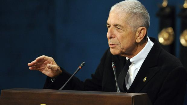 Leonard Cohen en Oviedo en 2011