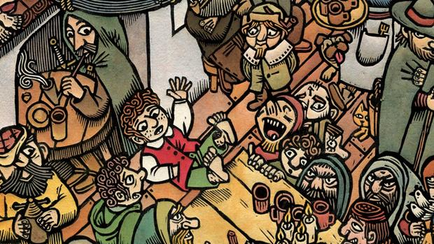Detalle de «El Poney Pisador», de Tomás Hijo