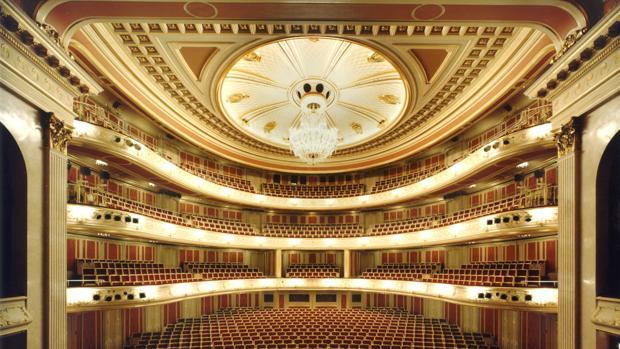 Aspecto del interior de la Staatsoper de Berlín
