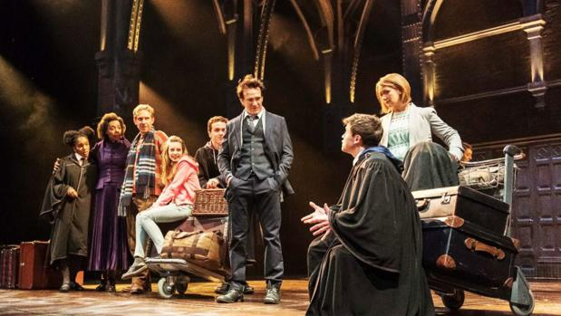 «Harry Potter y el niño maldito» se representa en el Teatro Palace, en Londres