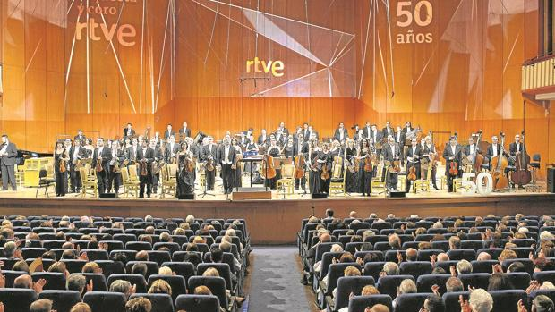Gala de los 50 años de la ORTVE, en 2015