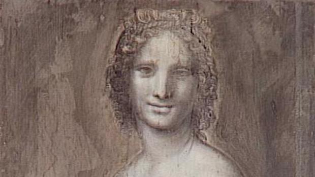 Detalle de «La Gioconda desnuda»