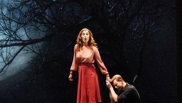 Escena del «Pelléas et Mélisande», una de las óperas fundamentales de su autor, representado en Oviedo el pasado mes de enero con puesta en escena de René Koering.