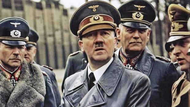 El líder del partido nazi, Adolf Hitler