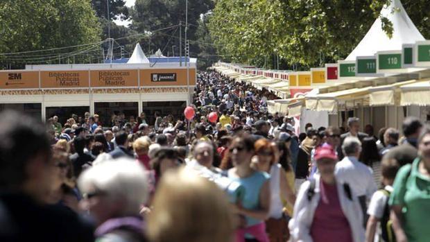 Imagen de la Feria del Libro de Madrid de este año
