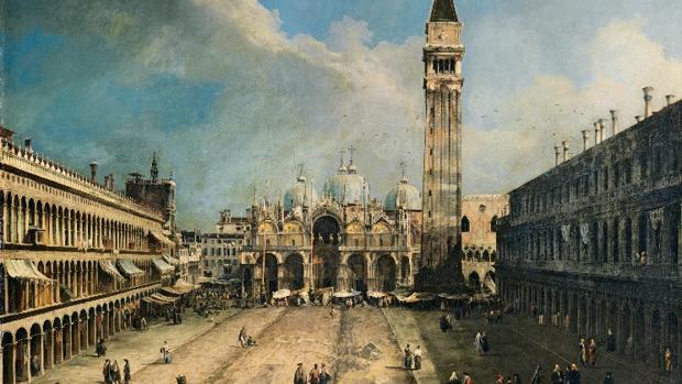 «La Plaza de San Marcos en Venecia», de Canaletto