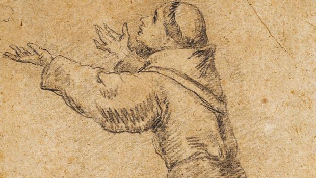 Dibujo preparatorio de Murillo en Gothsland Galería de Arte