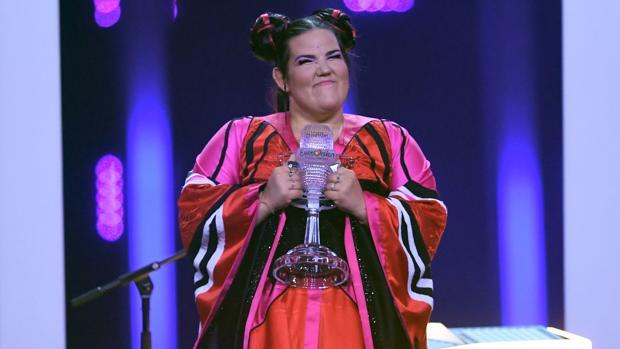 La cantante israelí Netta Barzilai, tras ganar Eurovisión