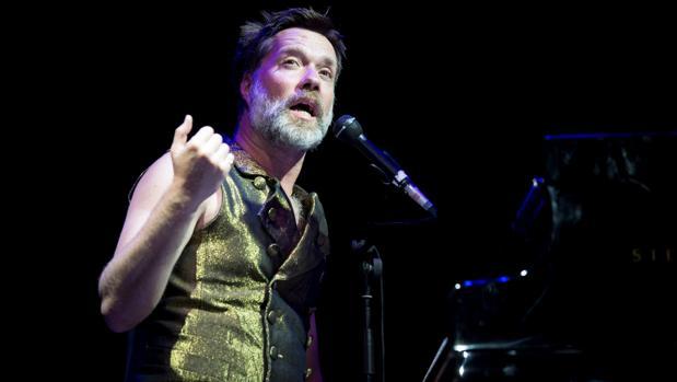 Rufus Wainwright, durante el concierto de las Noches del Botánico