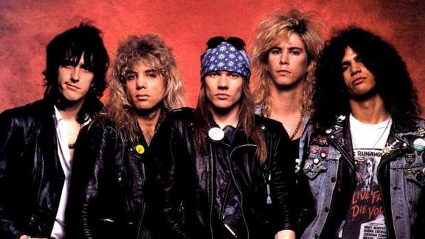 El grupo de rock estadounidense Guns N'Roses