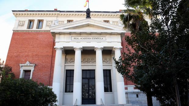 La sede de la RAE, en Madrid
