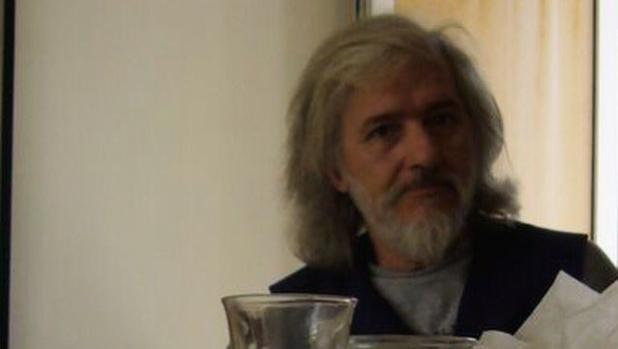 El pintor Miguel Ángel Campano